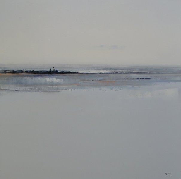 Paysage de mer aux rochers