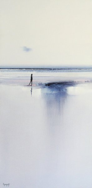 Reflets d'eau en bord de mer