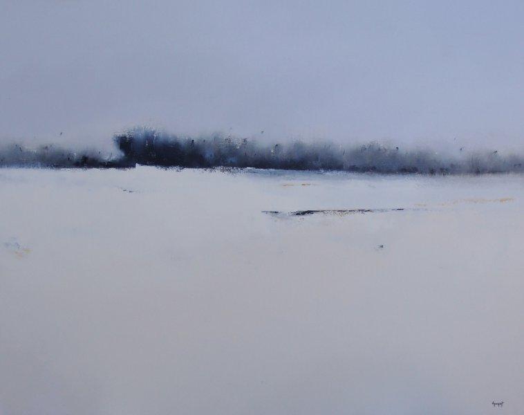 Le paysage blanc
