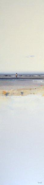 Jeune homme en bord de mer